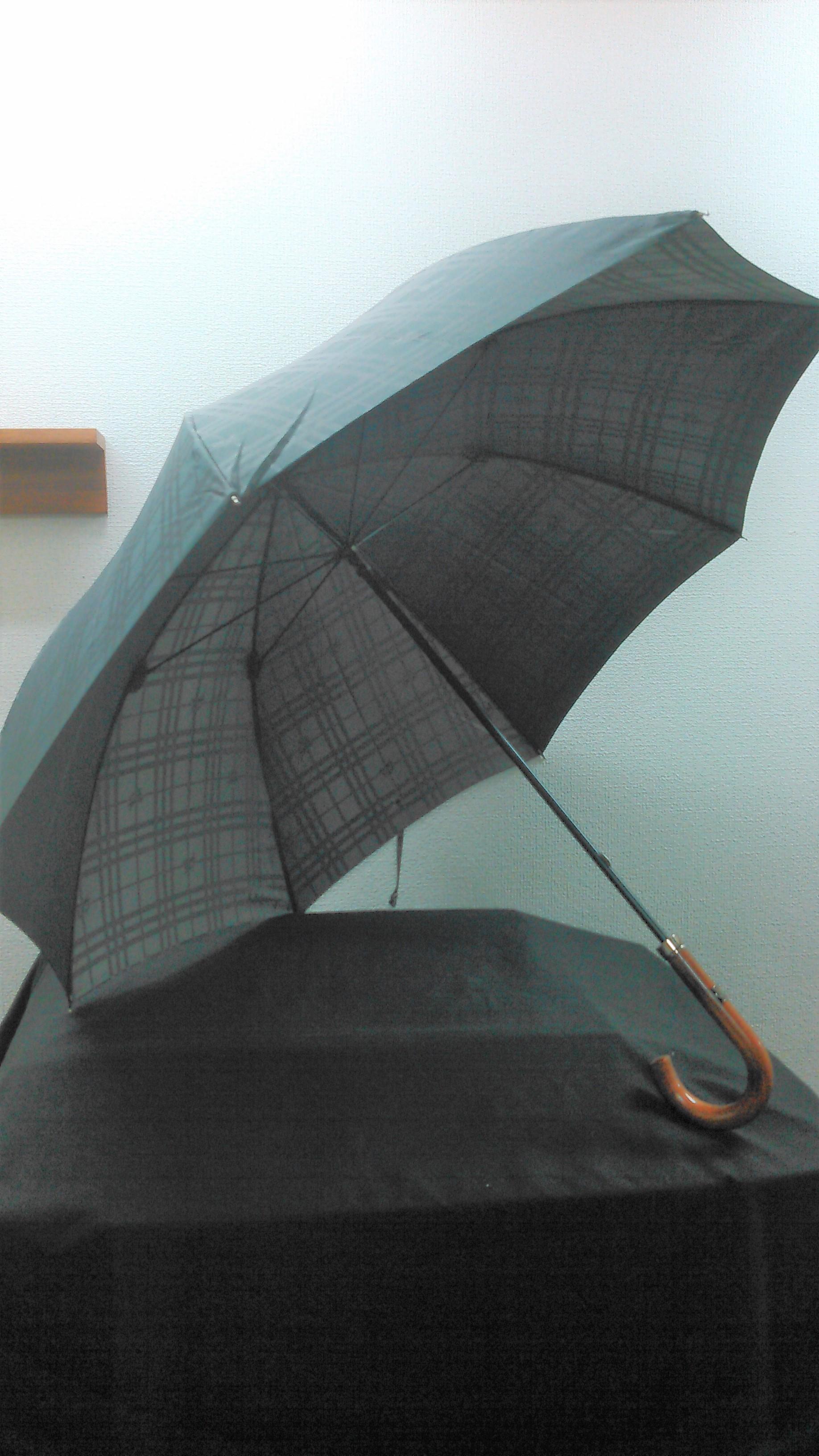 バーバリー長傘